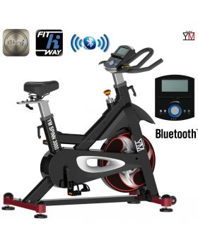 BICI FIT BIKE YOUR MOVE (YM) CARDIO BICICLETTA CYCLETTE FITNESS BLUETOOTH